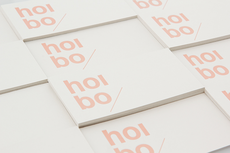 Logo and print designed by Blok for luxury bag, clothing and accessories brand Hoi Bo