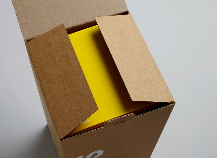 Light packaging for Terence Woodgate designed by Charlie Smith Design