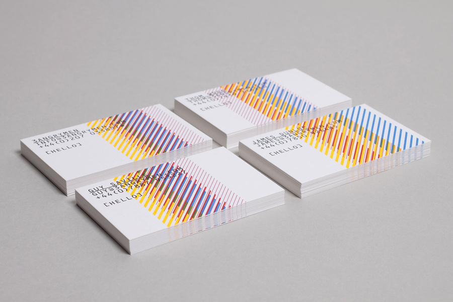 Logo and business card design by Build for London based production and digital content company 3angrymen
