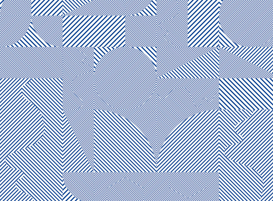 Geometric pattern work by Kokoro & Moi for Helsinki based architecture firm ALA