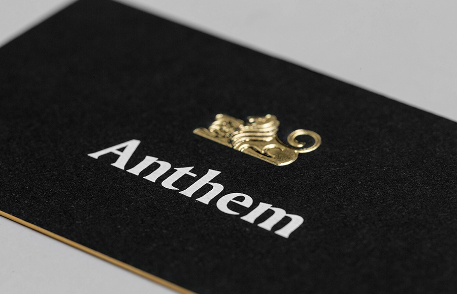 New Logo and Brand Identity for Anthem by Anagrama