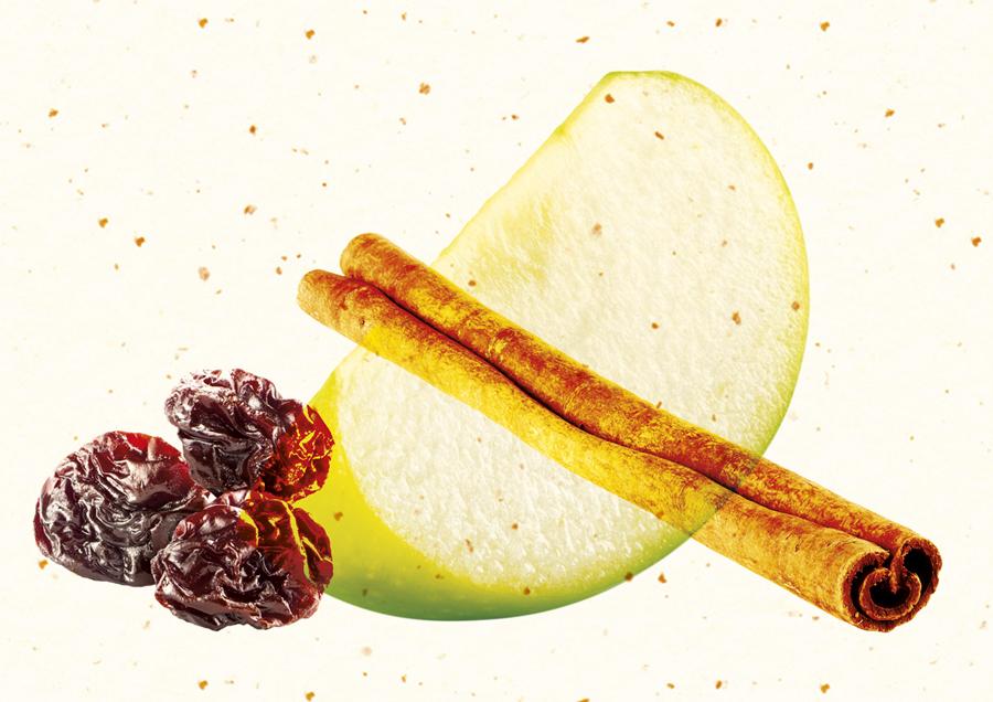 Imagery created by B&B Studio for Cuckoo's wheat-free bircher muesli range
