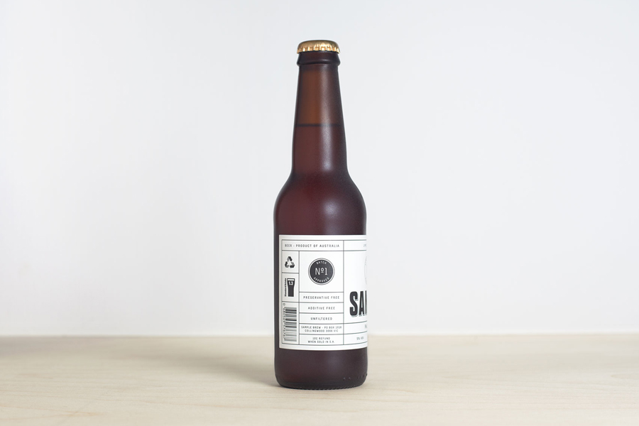 Packaging designed by Longton for Sample Brew