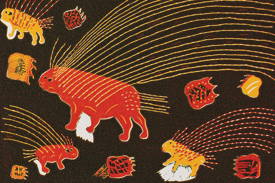 Artwork for exhibition Colours Of The Kalahari