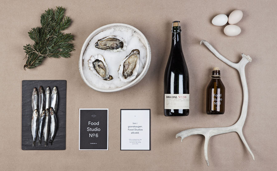 Logo and packaging by Bielke+Yang for Food Studio