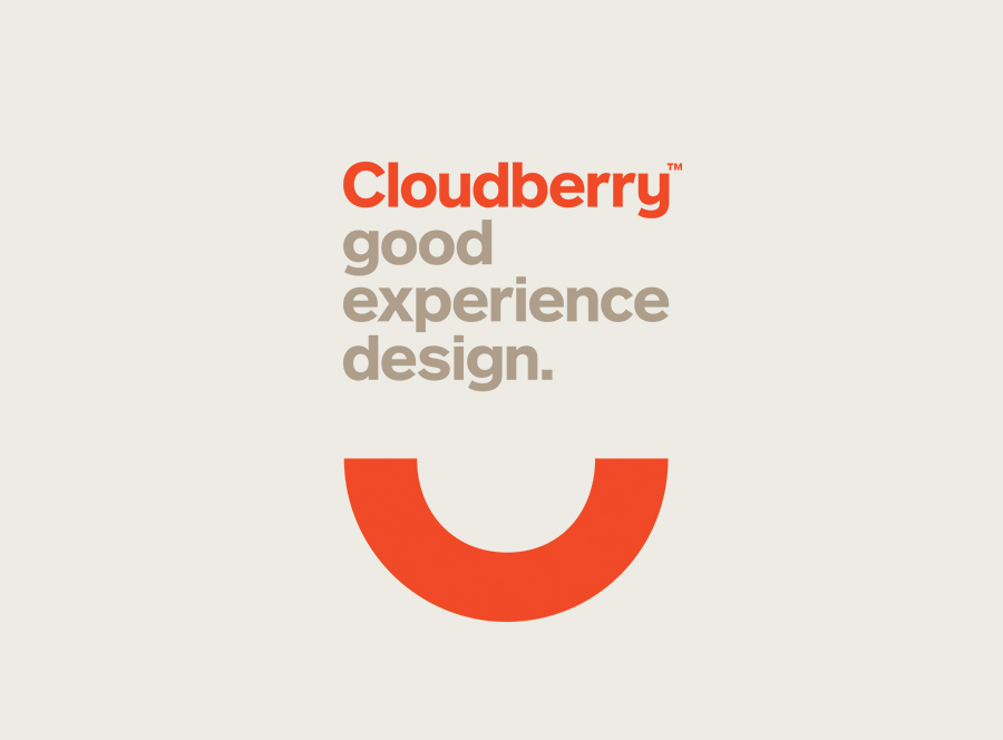 Logotype designed by Perky Bros for Cloudberry