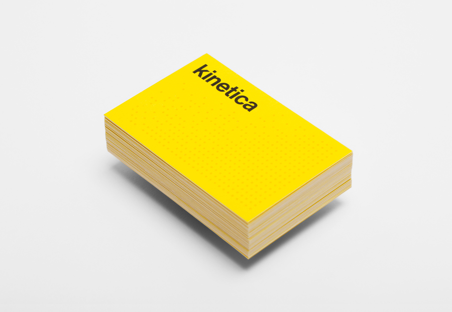 New Brand Identity for Kinetica by Face - BP&O