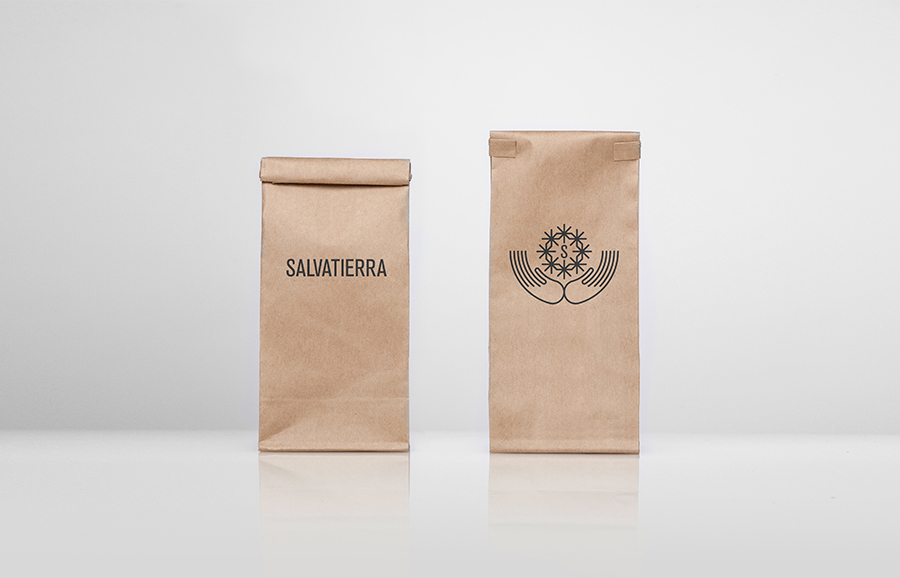 Brand identity and unbleached packaging by Anagrama for Latin American premium goods exporter Salvatierra