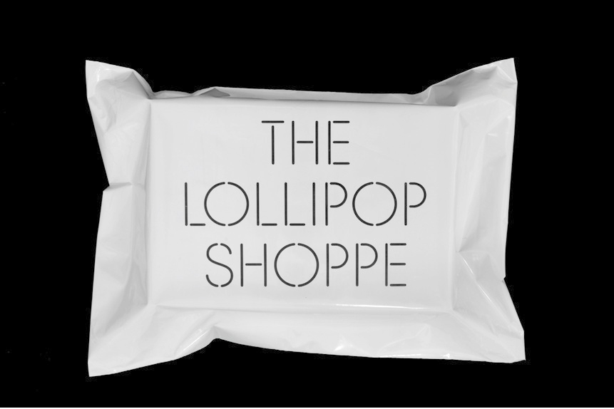 Logo and print created by Studio Makgill for designer furniture and accessories retailer The Lollipop Shoppe