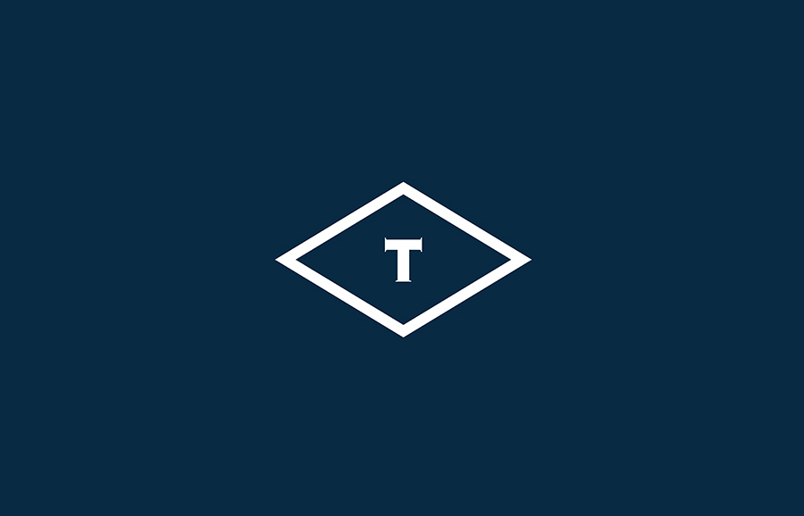 Logo designed by Anagrama for British multinational venture capital firm Tourean