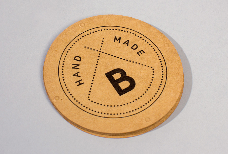 Logo and unbleached tag designed by Swear Words for Bindle