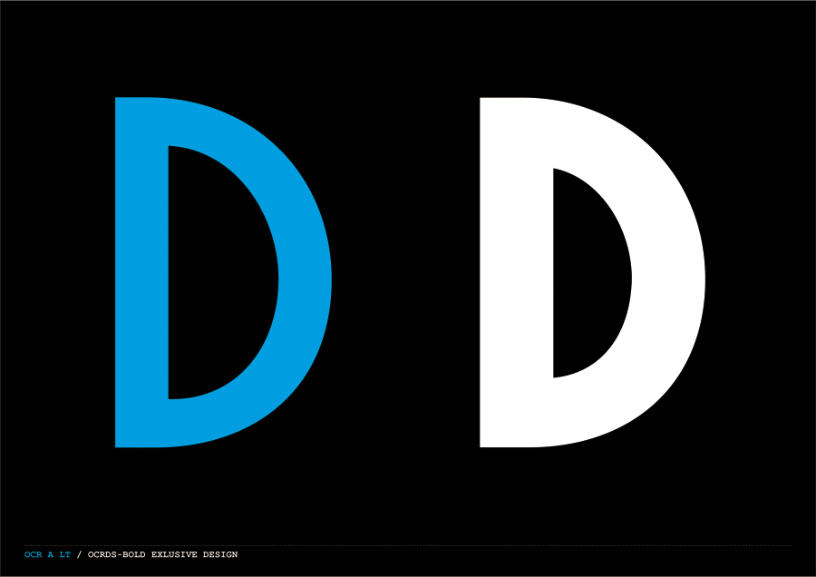 Custom typography created by Demian Conrad Design for Swiss contemporary furniture design and manufacturer Dadadum