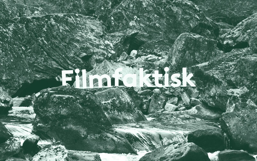 Logo and photography for Norwegian, location-focused filmmakers Filmfaktisk designed by Heydays