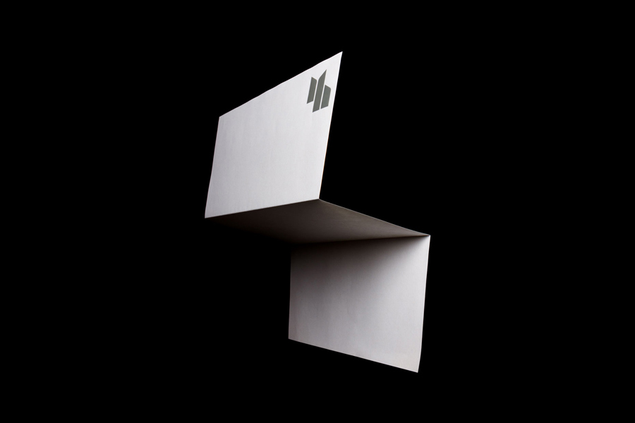 Stationery design by Spin for furniture designer Matthew Hilton