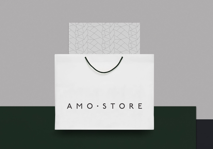 Bag for Melbourne shoe boutique Amo Store by designed Studio SP–GD