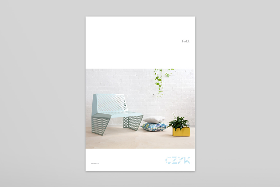 Logo and brochure designed by Longton for industrial design practice CZYK