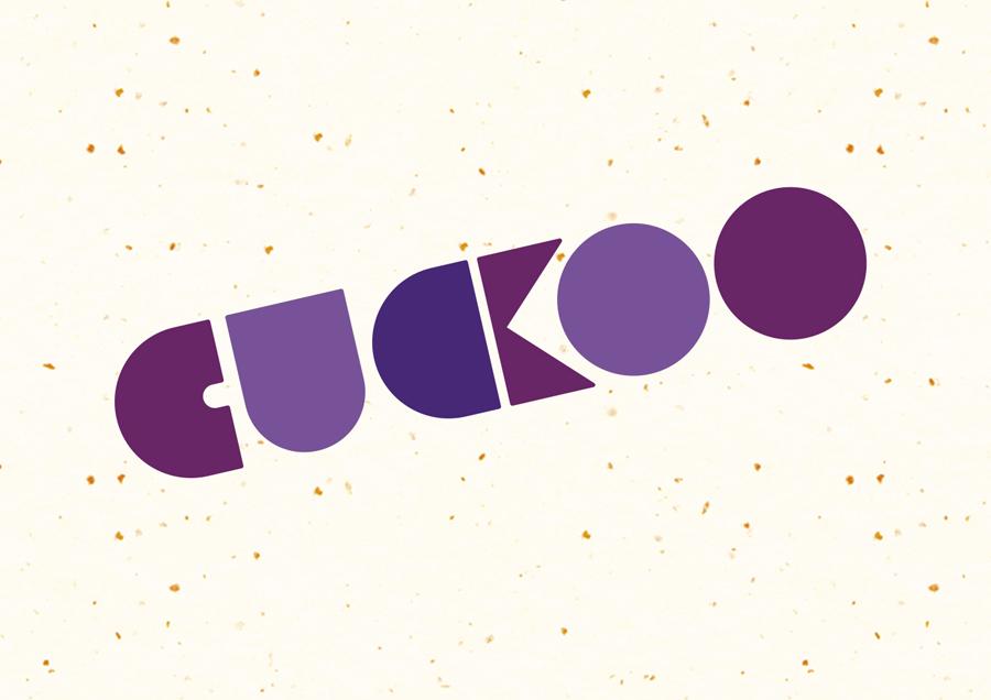 Logotype designed by B&B Studio for Cuckoo's wheat-free bircher muesli range