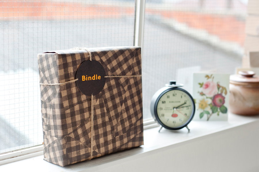 Logo and packaging design by Swear Words for Bindle