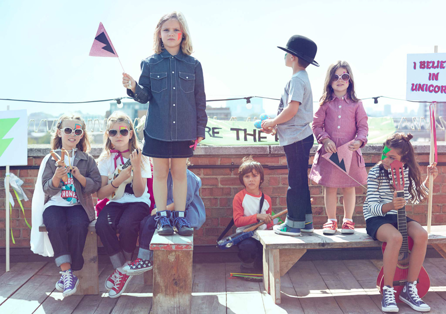 Photography for children's fashion brand The Fableists created by Freytag Anderson featured on BPO