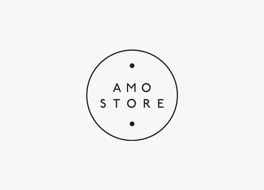 Amo Store logo by designed Studio SP–GD