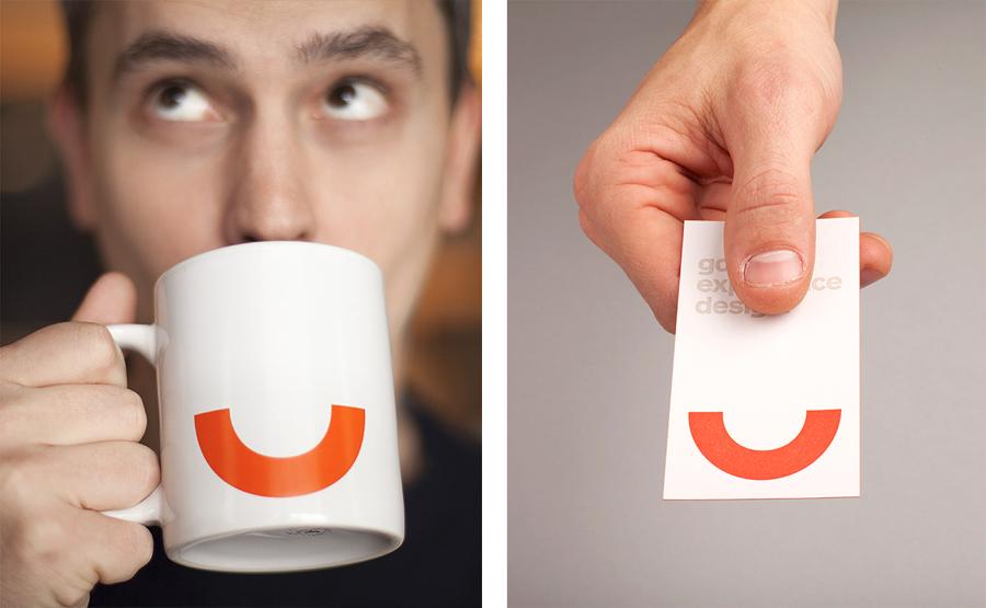 Logo, business card and mug designed by Perky Bros for Cloudberry