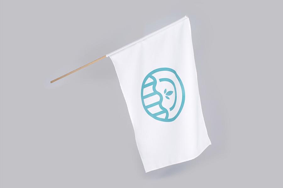 Logo and flag for Galt Energy designed by Firmalt