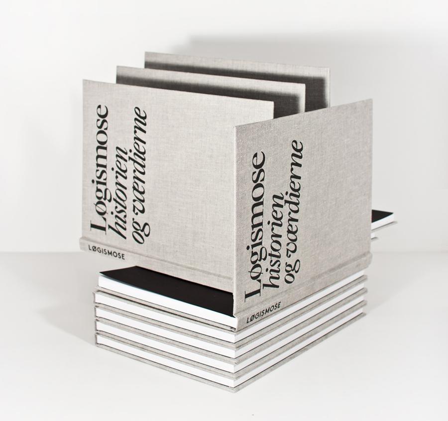 Løgismose book of brand values designed by Homework