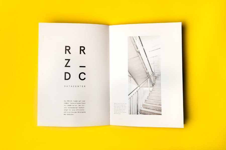 Brochure designed by Moodley for Raiffeisen Rechenzentrum