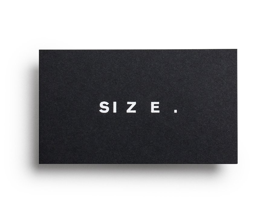 New Logo and Brand Identity for Size Records by Face - BP&O