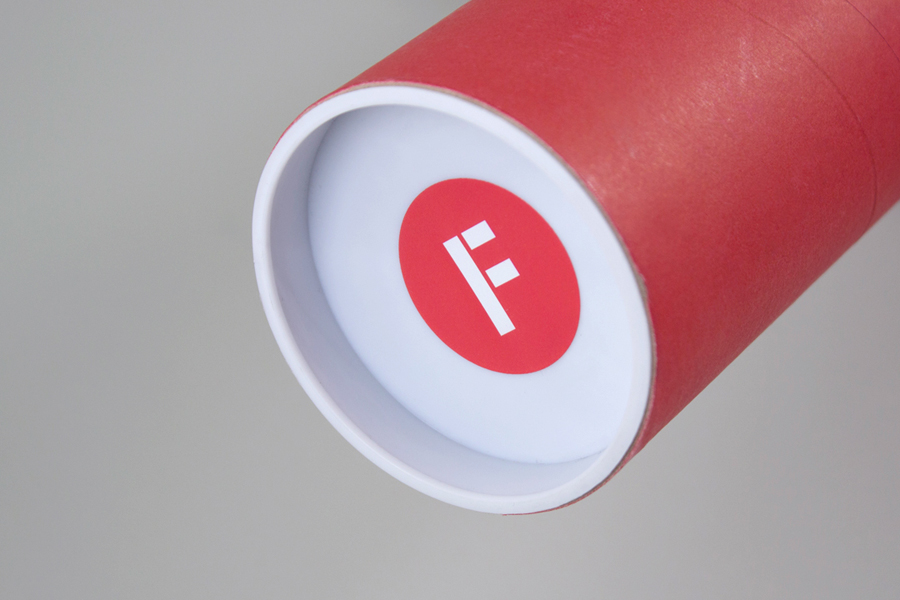 Logo and sticker created by digital design and branding agency Fieldwork