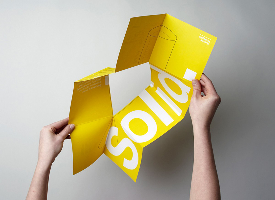 Illustrated manual for lighting design and manufacturer Terence Woodgate designed by Charlie Smith Design