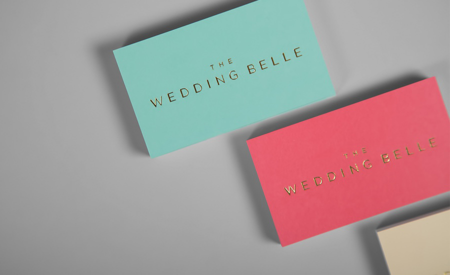 New Brand Identity for The Wedding Belle by Ghost - BP&O
