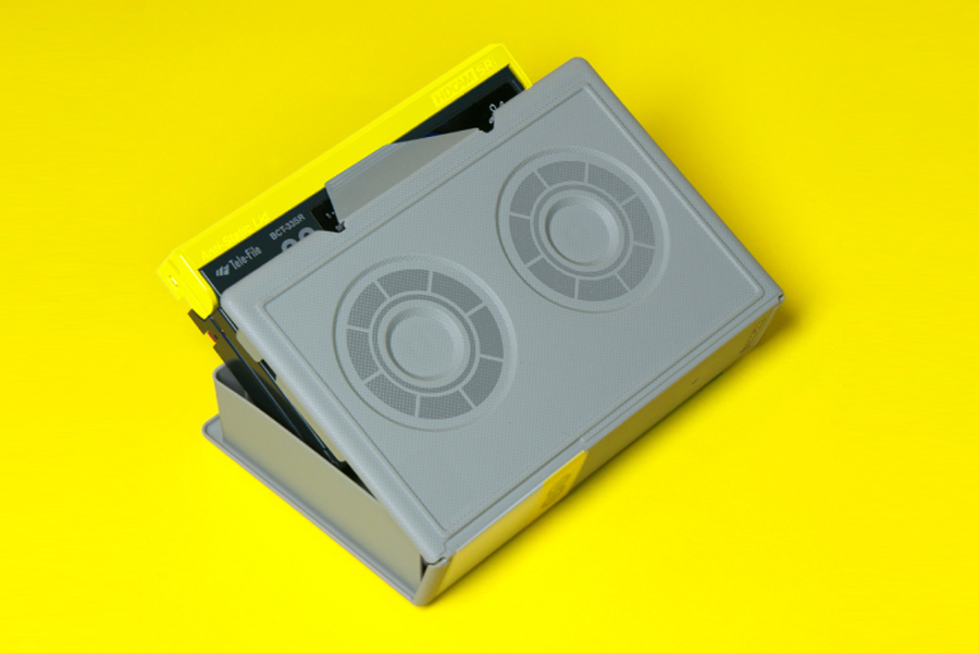 Tape case by Alphabetical for independent production company Giant Owl