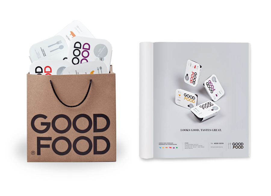 Print and packaging by Face for Good Food
