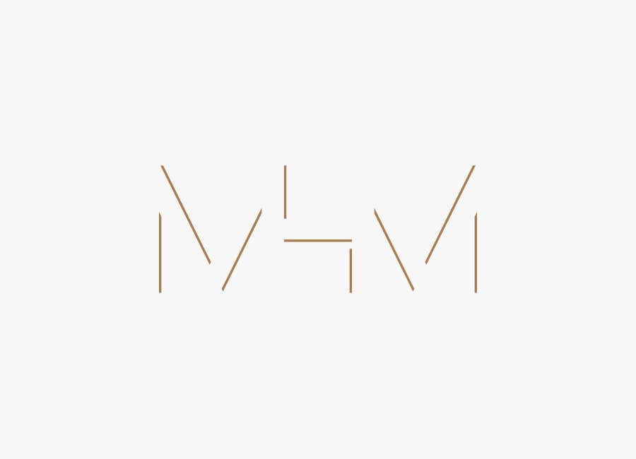 Monogram for MHM Architects by 26 Lettres