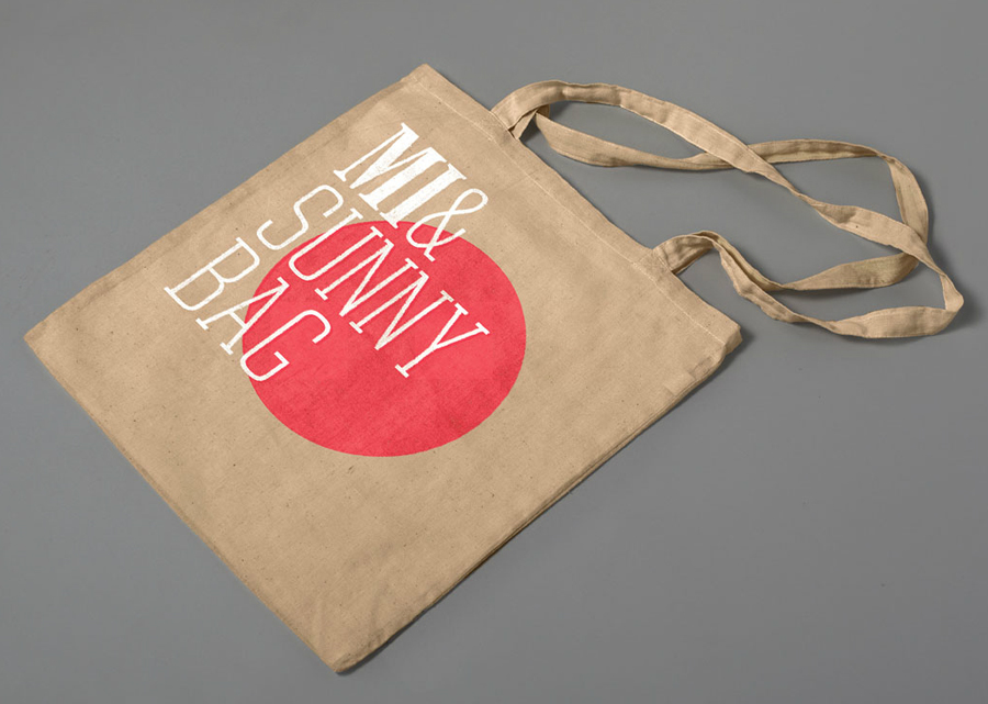 Tote bag designed by Atipo for online fashion retailer Mi&Mall