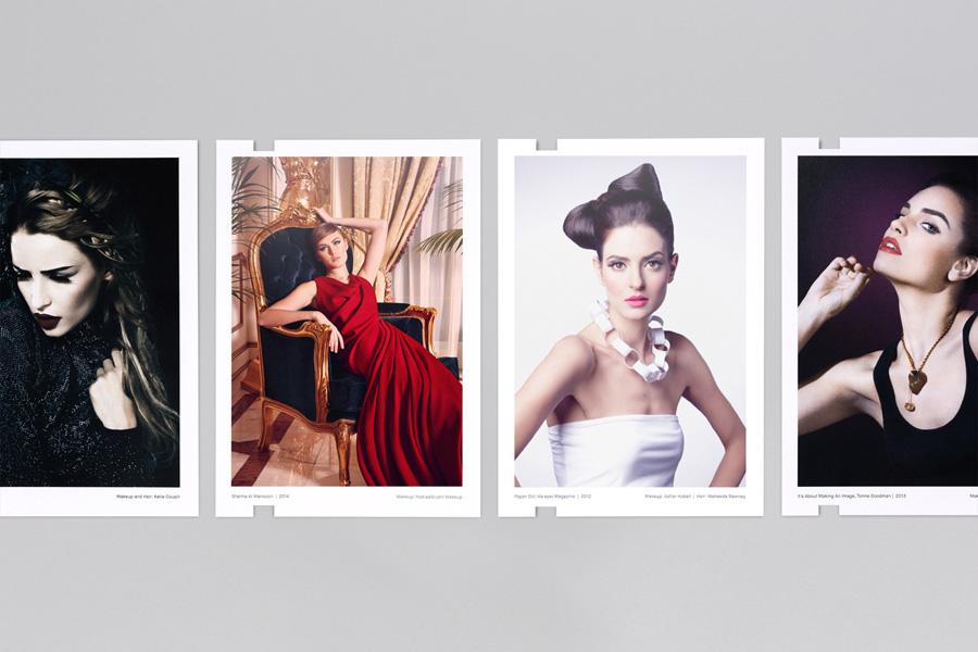 Print portfolio designed by Mash Creative for photographer Ali Sharaf