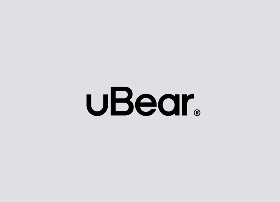 Logotype designed by Hype Type Studio for high end mobile phone, tablet and laptop accessories company U-Bear