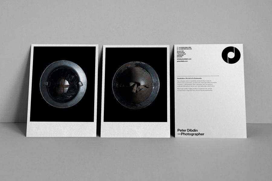 Print designed by O Street for photographer Peter Dibdin