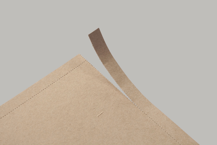Envelope with perforated detail for Privacy International designed by This Is Real Art