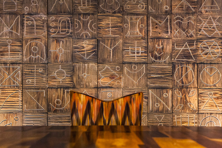 Interior furnishing for seafood restaurant La Peñita De Jaltemba designed by Savvy