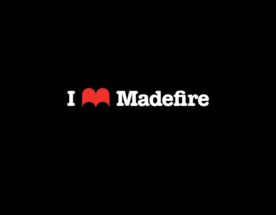 Logo design for Madefire created by Moving Brands