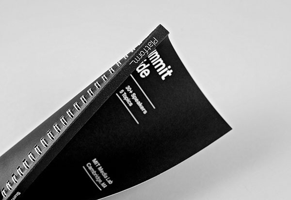 Print designed by Pentagram for not-for-profit, technology and entrepreneurship organisation Platform