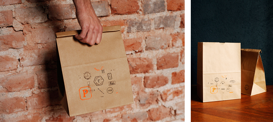 Packaging with hand stamp detail by Savvy for art, design and gastronomy experience Puebla 109