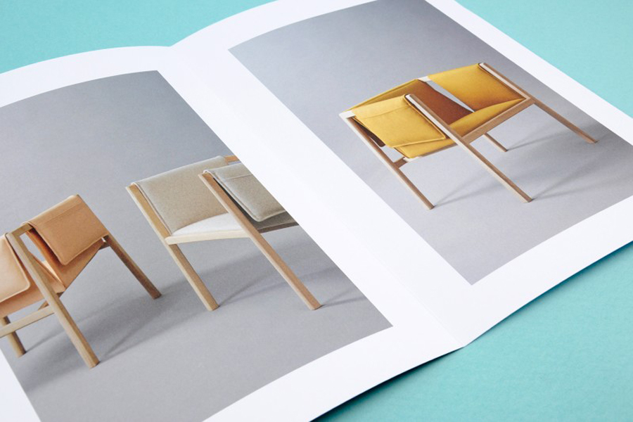 Print for Norwegian traditional and contemporary furniture maker Slåke Møbelfabrikk designed by Ghost