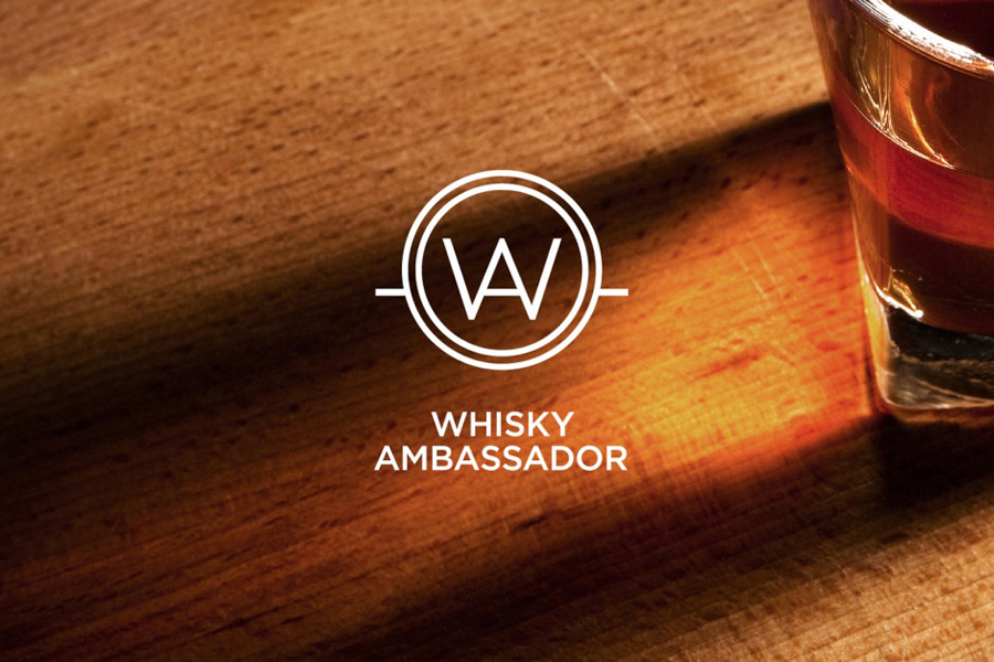 Logo designed by O Street for Accredited one-day training course Whisky Ambassador