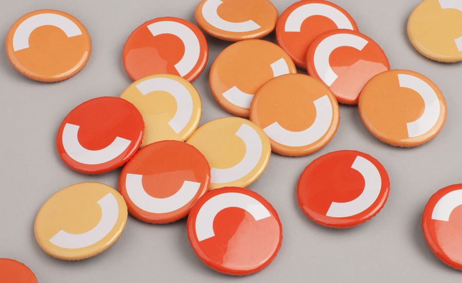 Logo and badges designed by Perky Bros for Cloudberry