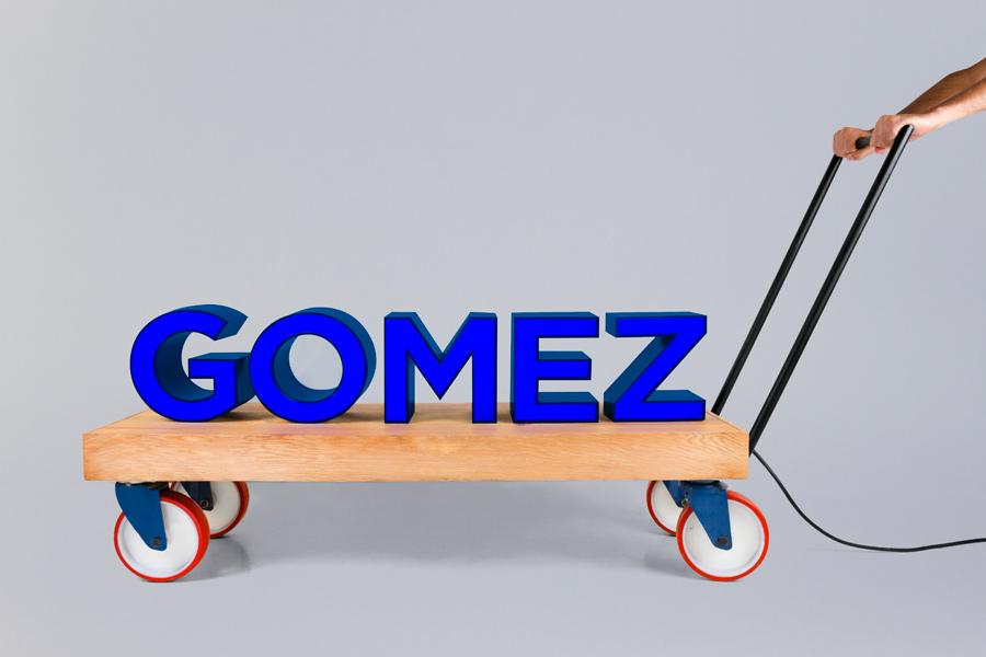 Logo design by Savvy for San Pedro-based bar Gomez