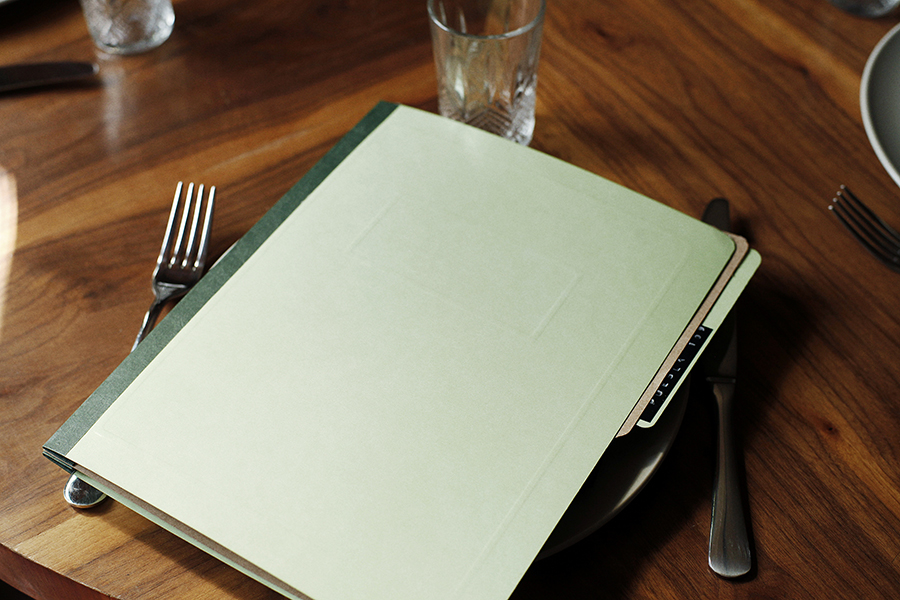 Menu by Savvy for art, design and gastronomy experience Puebla 109