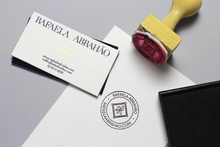 New Brand Identity for Rafaela Abrahão by BR/Bauen - BP&O